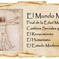 Tema 1 - El Mundo Moderno